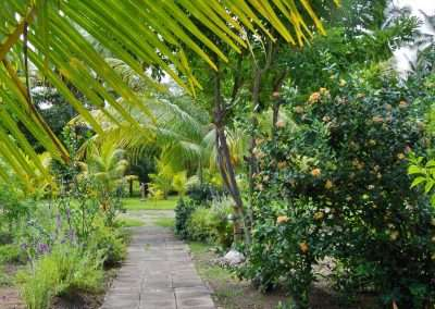 Budi Sun Resort Garten