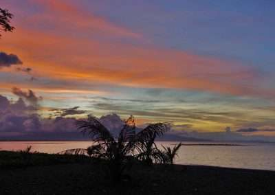 Sonnenuntergang Budi Sun Resort